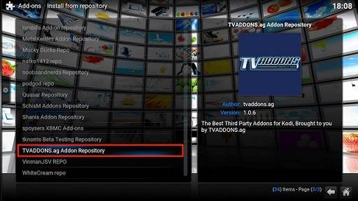 Install Phoenix XBMC Addon