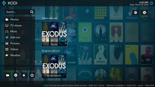 exodus kodi addons download