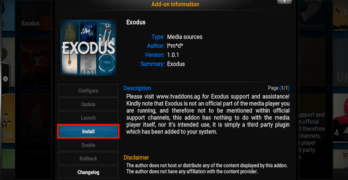 How to Install Exodus on Kodi & Solve Not Working Issue