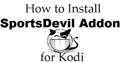 SportsDevil Addon for Kodi