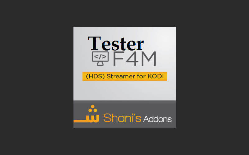 How to Install F4M Tester Proxy Kodi