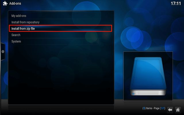 Kodi Addon Zip File