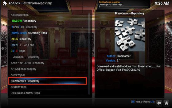 Select Blaztamer Repository
