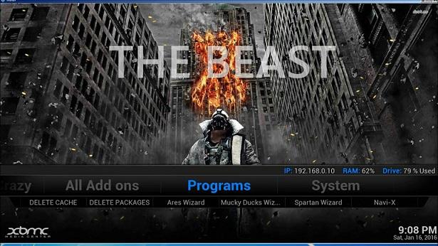 Beast Kodi Addon