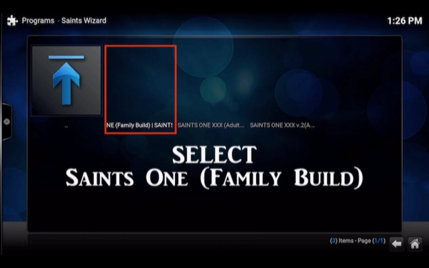 Saints Build Kodi Addon for Kodi