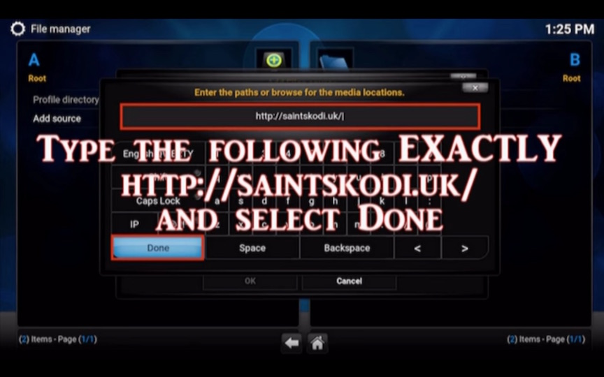 Kodi Saints Build Addon 2016