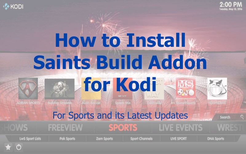 Saints Build Addon