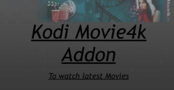 Install Kodi Movie4k Addon – Updated Guide