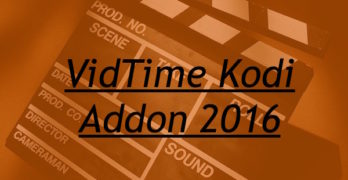 Install VidTime Kodi IPTV Addon – Guide 2016