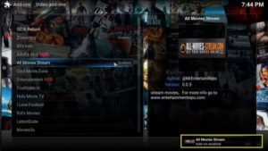 all movie addon enabled