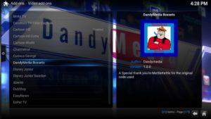 dandymedia boxsets option