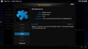 install md watchseries