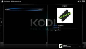 vodpass addon enabled