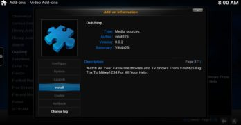 Tutorial How to Install DubStop Video Kodi Add-on