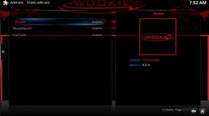 video addon wookie
