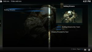 video addons bulldog