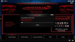 wookie look downloading